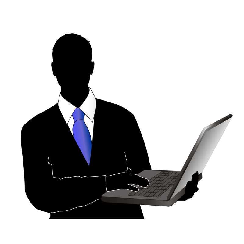 Manager clipart business management administration. Silhouette at getdrawings com