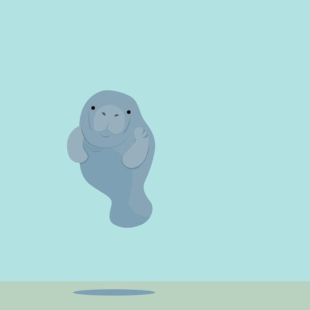 Manatee clipart emoji. The best manatees images