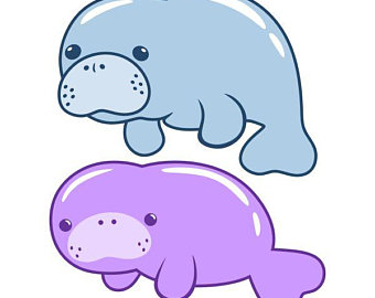 Svg etsy florida cuttable. Manatee clipart graphic transparent download
