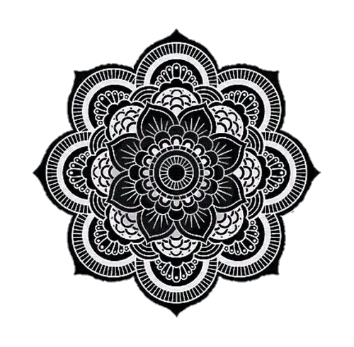 boho vector simple mandala design