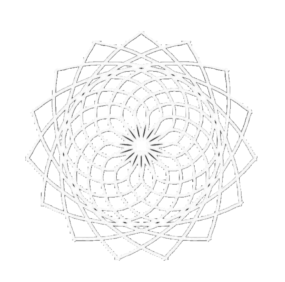 Mandala overlay png. Angles triangles white
