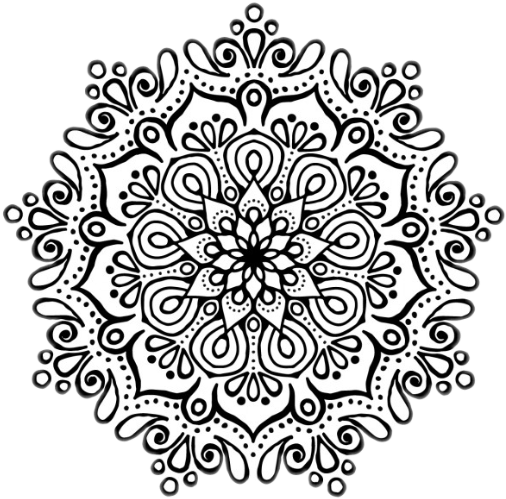 Mandala overlay png. Sticker by pioricci