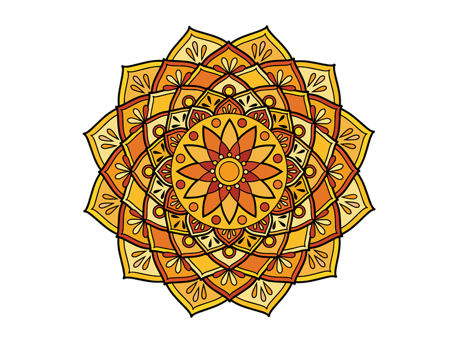 Mandala pictures png. Coloring pages for adults