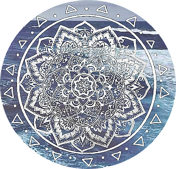 Mandala png tumblr. Ocean icon sticker by