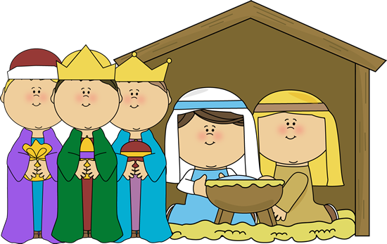 December clipart december 2016. Free cute nativity cliparts