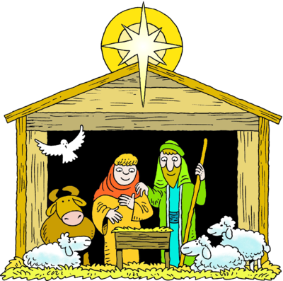 christian vector nativity