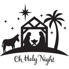 Manger clipart silent night. K ptal lat a