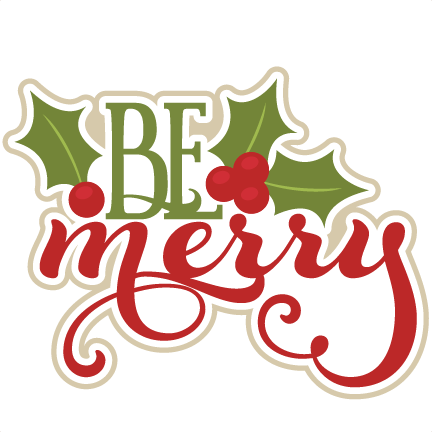 Manger svg for unto us a child is born. Be merry scrapbook title
