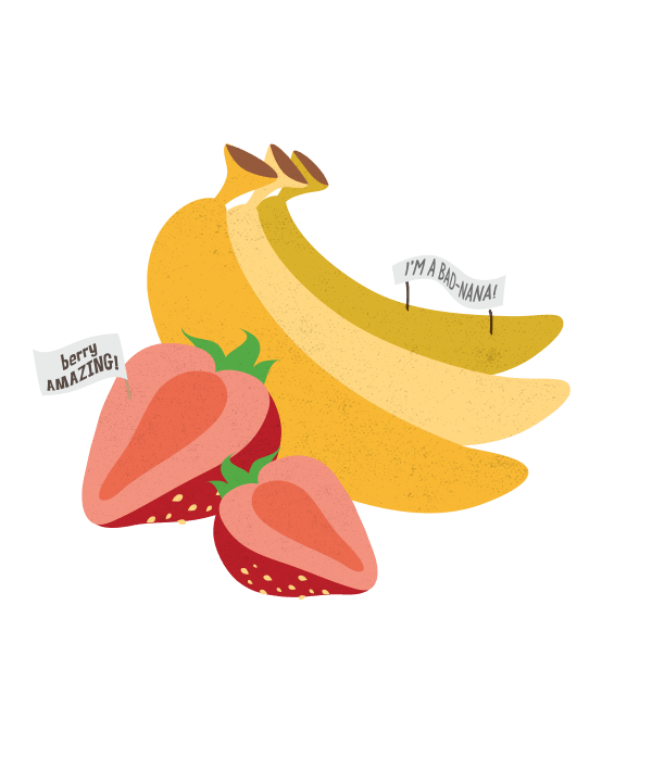 Mango clipart banana. Strawberry uvm bored days