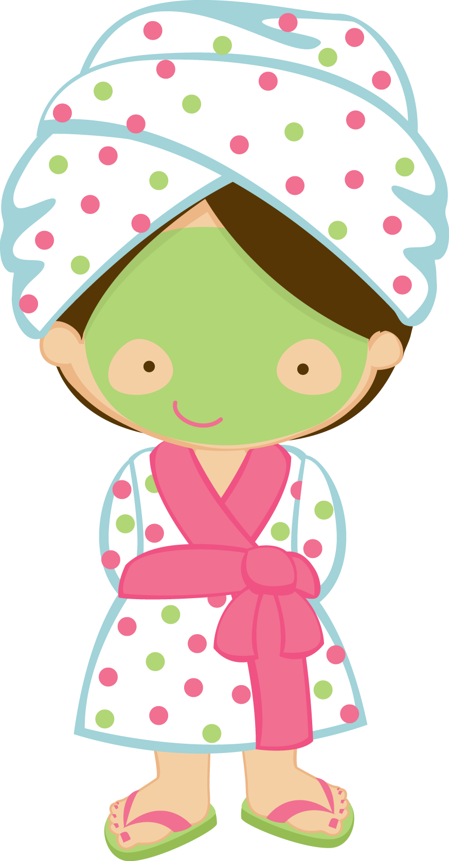 Spa clipart. Free girl cliparts download