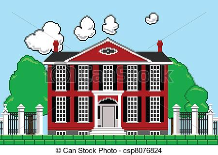 Mansion clipart.
