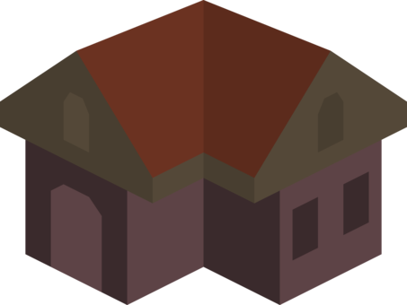 Roof clipart residential house. Howsham hall cholmley building