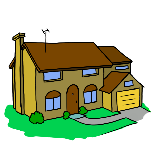 Doraemon drawing house. Mansion jpg transparent