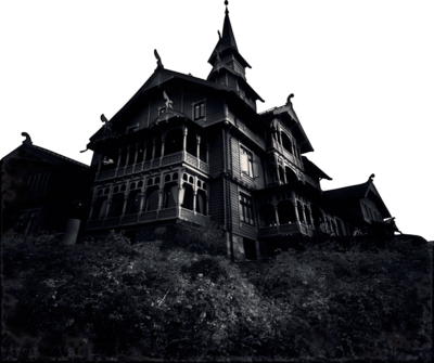 Mansion png image. Haunted by melanienemo on
