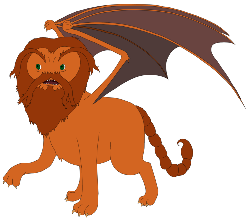 Tiny by magnemia on. Manticore drawing svg transparent download