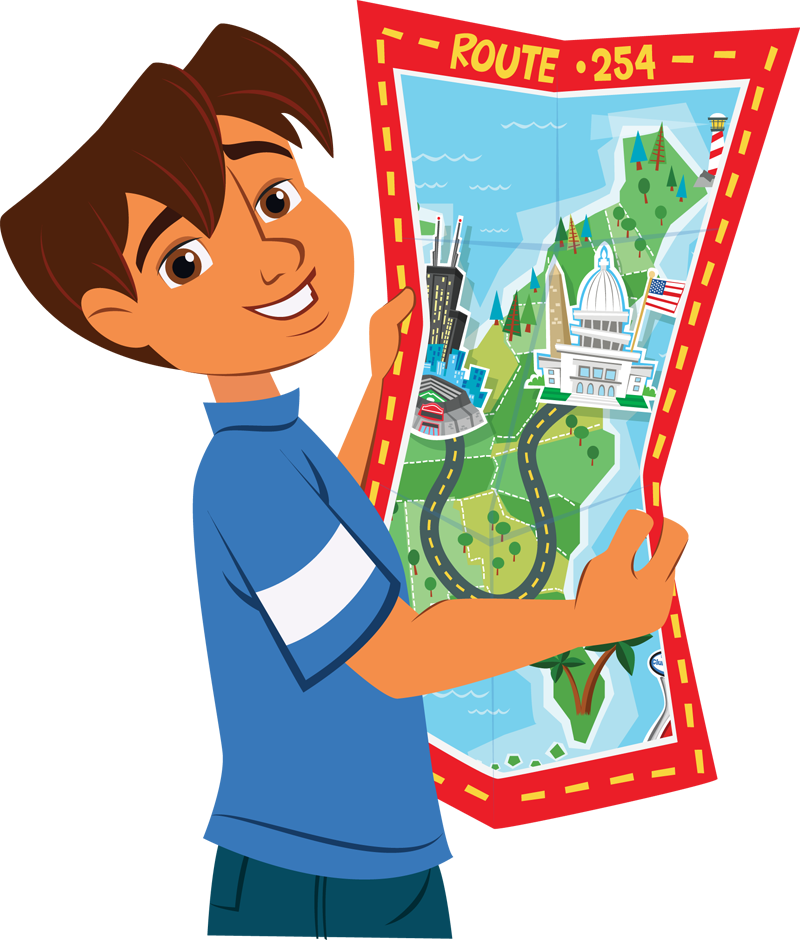 Map clipart catoon. Free cliparts download clip