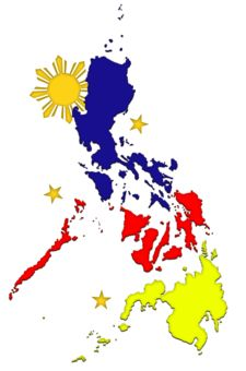 Map clipart philippine symbol. The one sun and