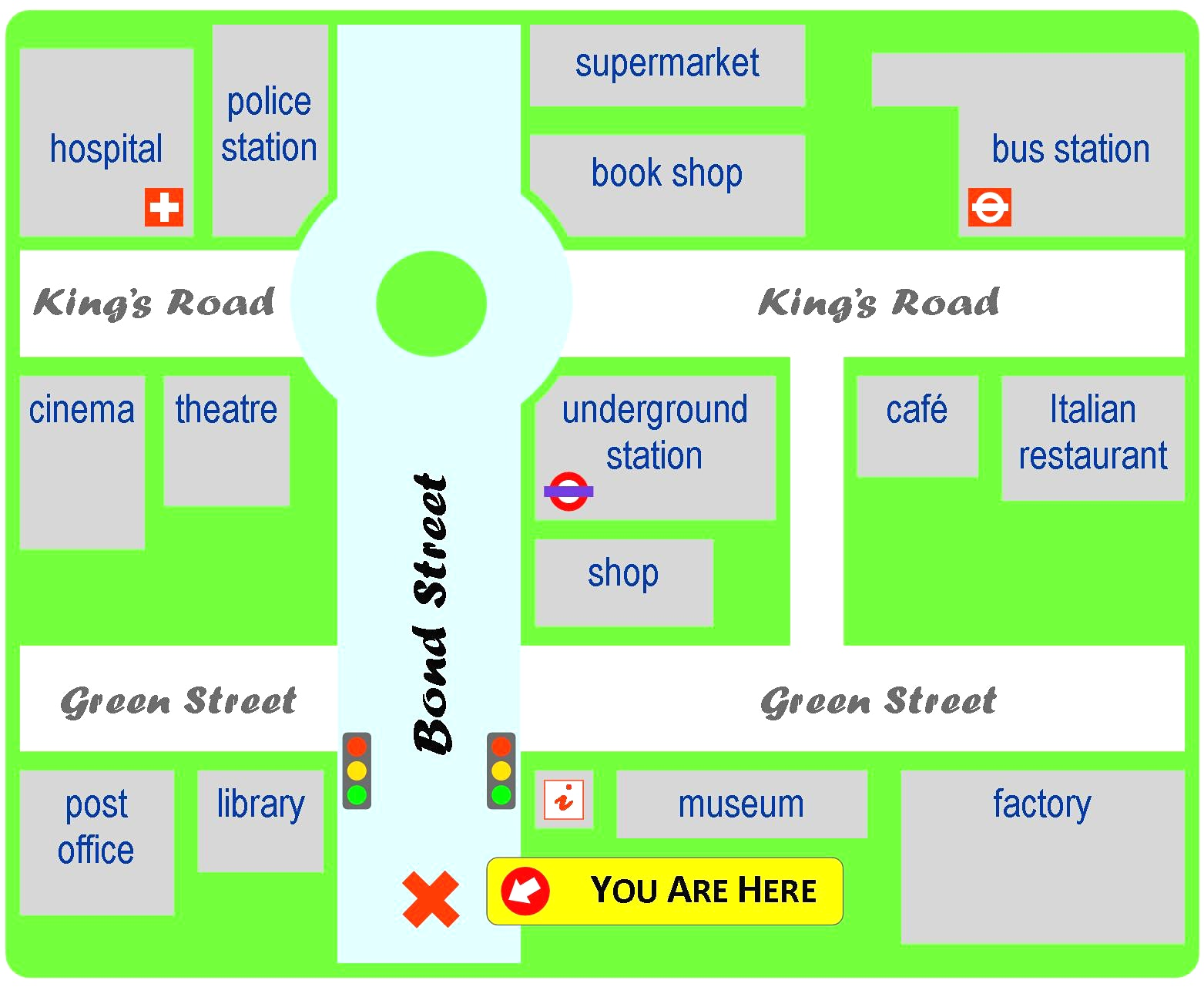 Map clipart simple. For directions free collection