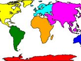 Map clipart simple. Best of world black