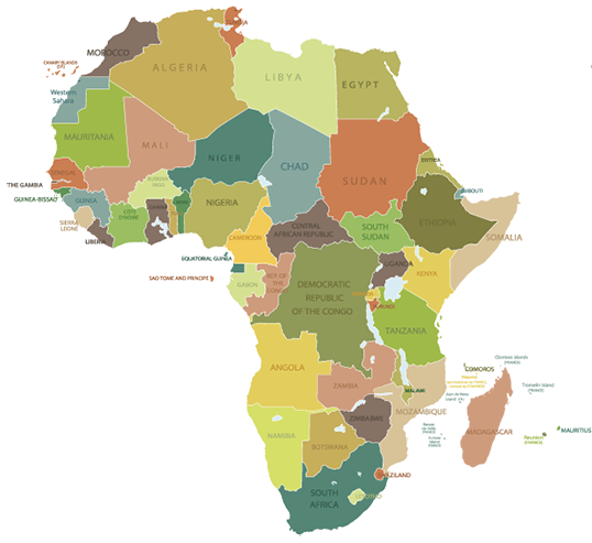 Map of africa png. Sarah james travel mapafrica