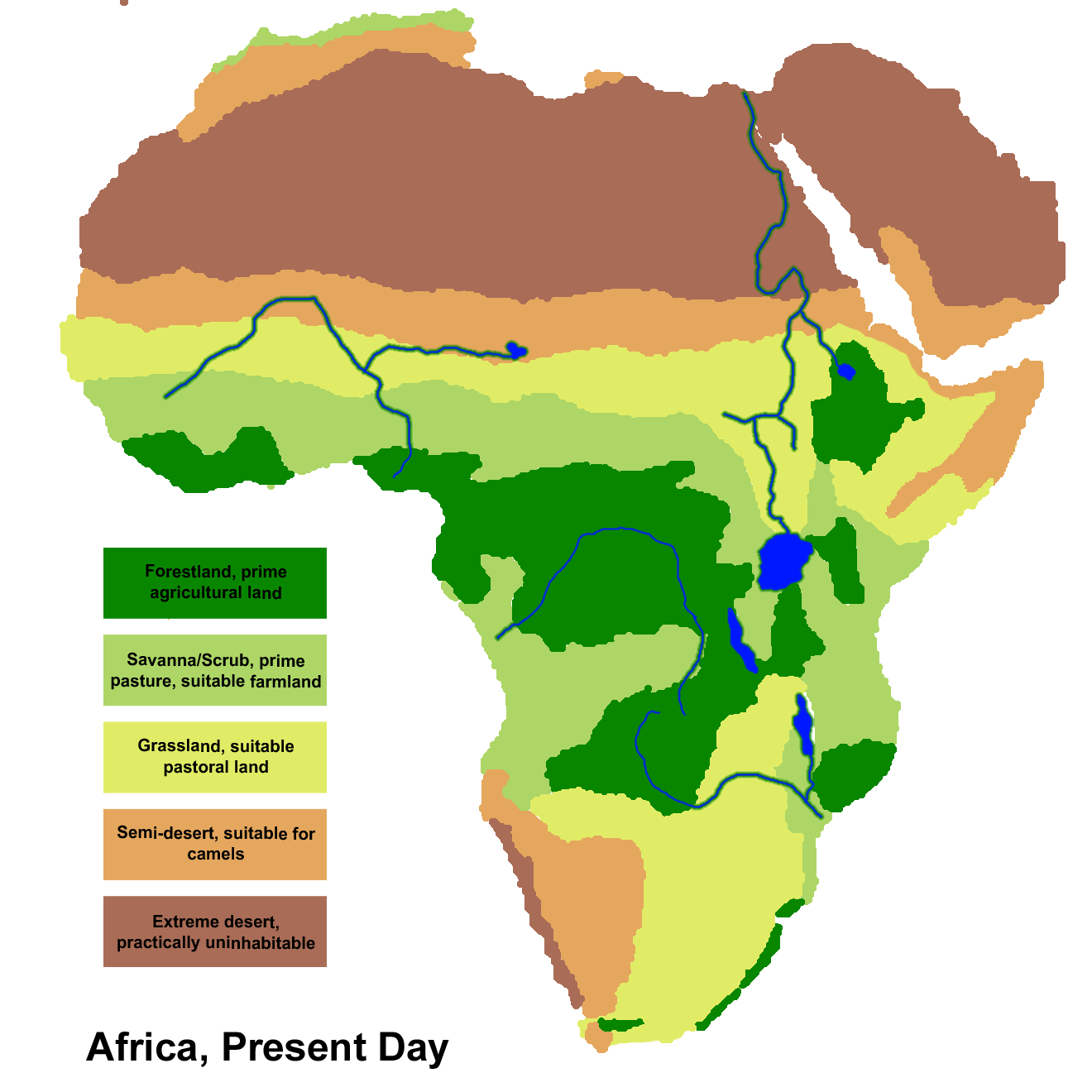 Map of africa png. File climate today history