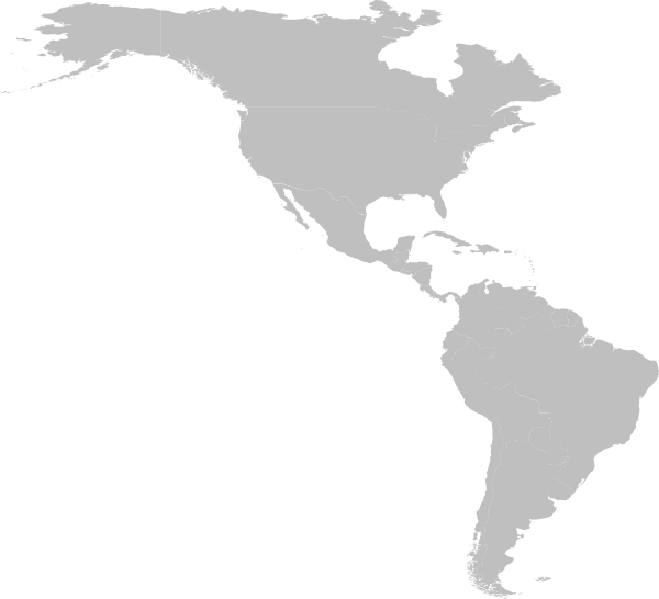Map of america png. United states de nora