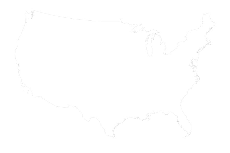Usa map black and white png. Wind mask