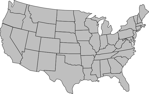 blank map of us png