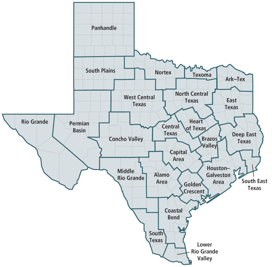Map of texas png. State expenditures by council