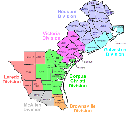 Map of texas png. File southern district wikimedia