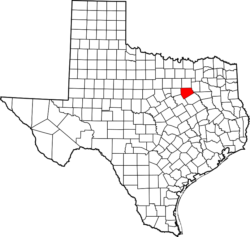 Map of texas png. File highlighting ellis county