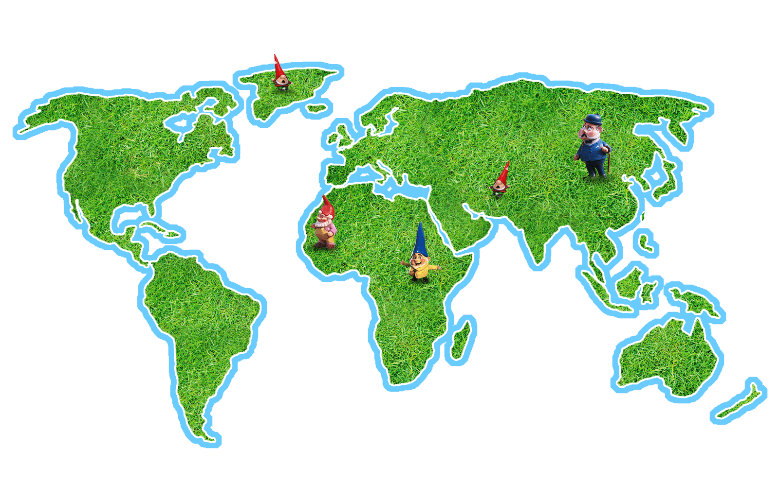 Map of the world png. Sherlock gnomes maps in