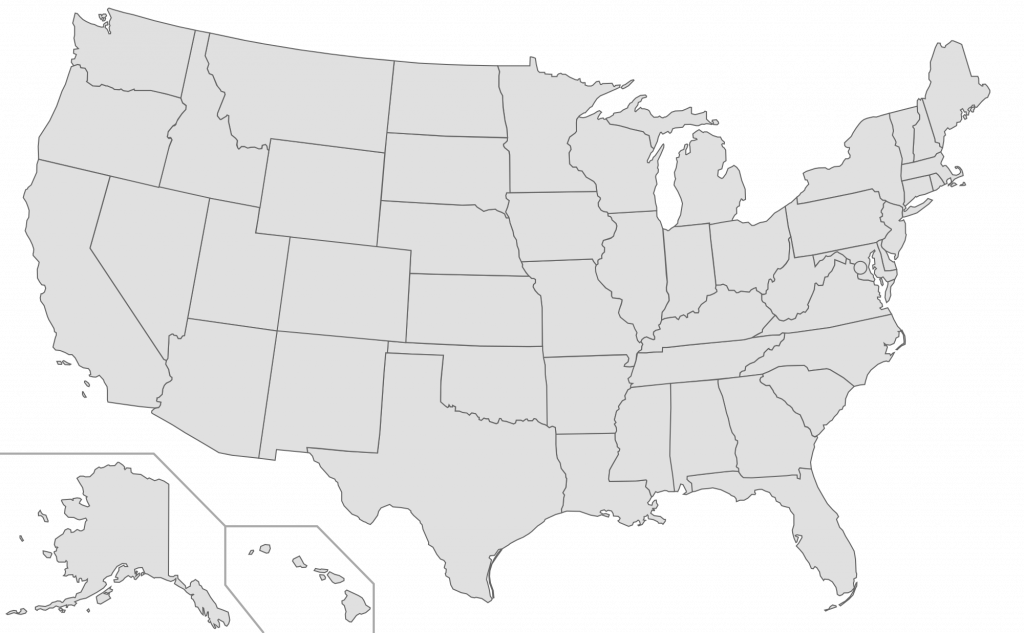 Map of usa black and white png. Us transparent background grey