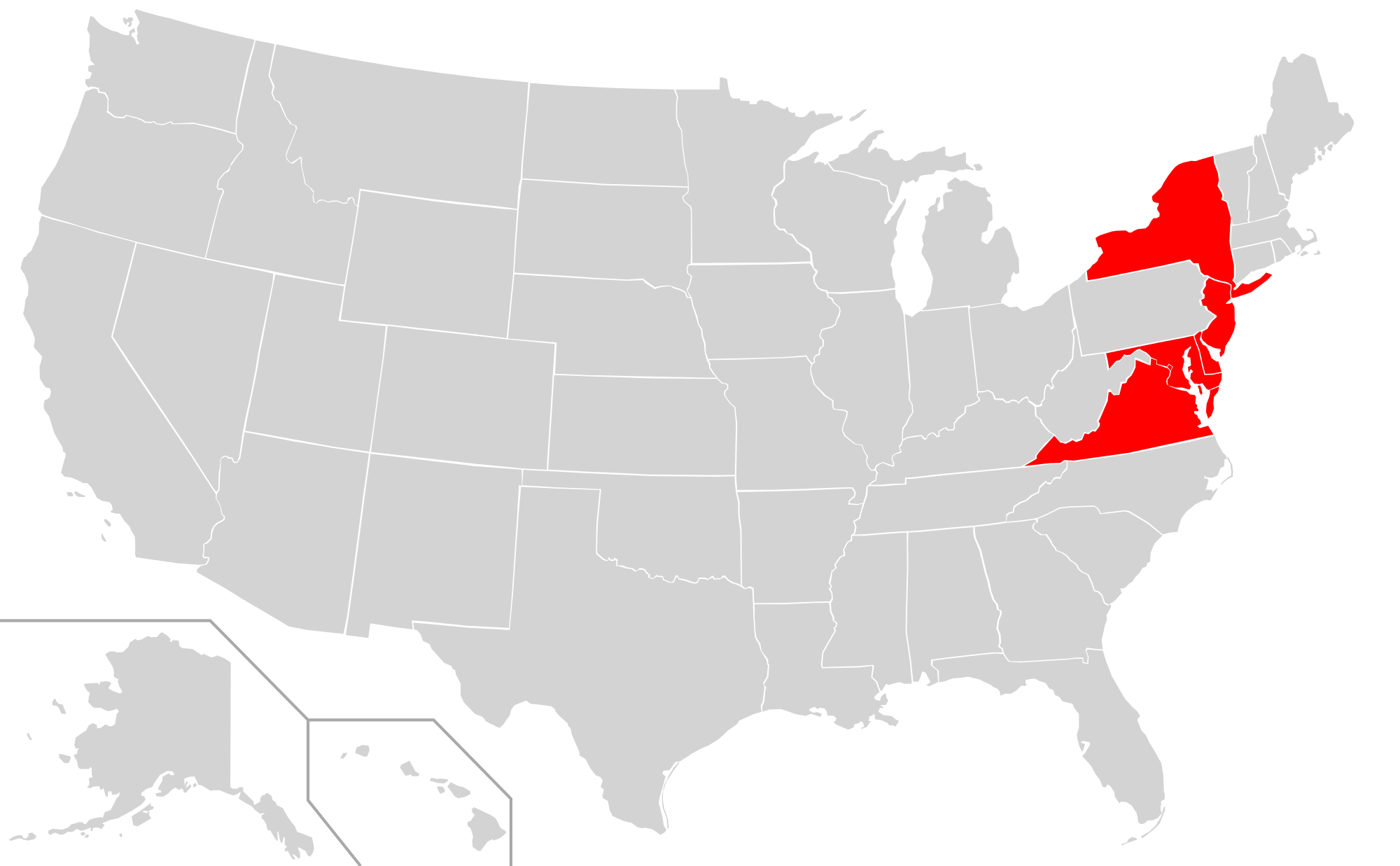 Map of usa png. File highlighting oca diocese
