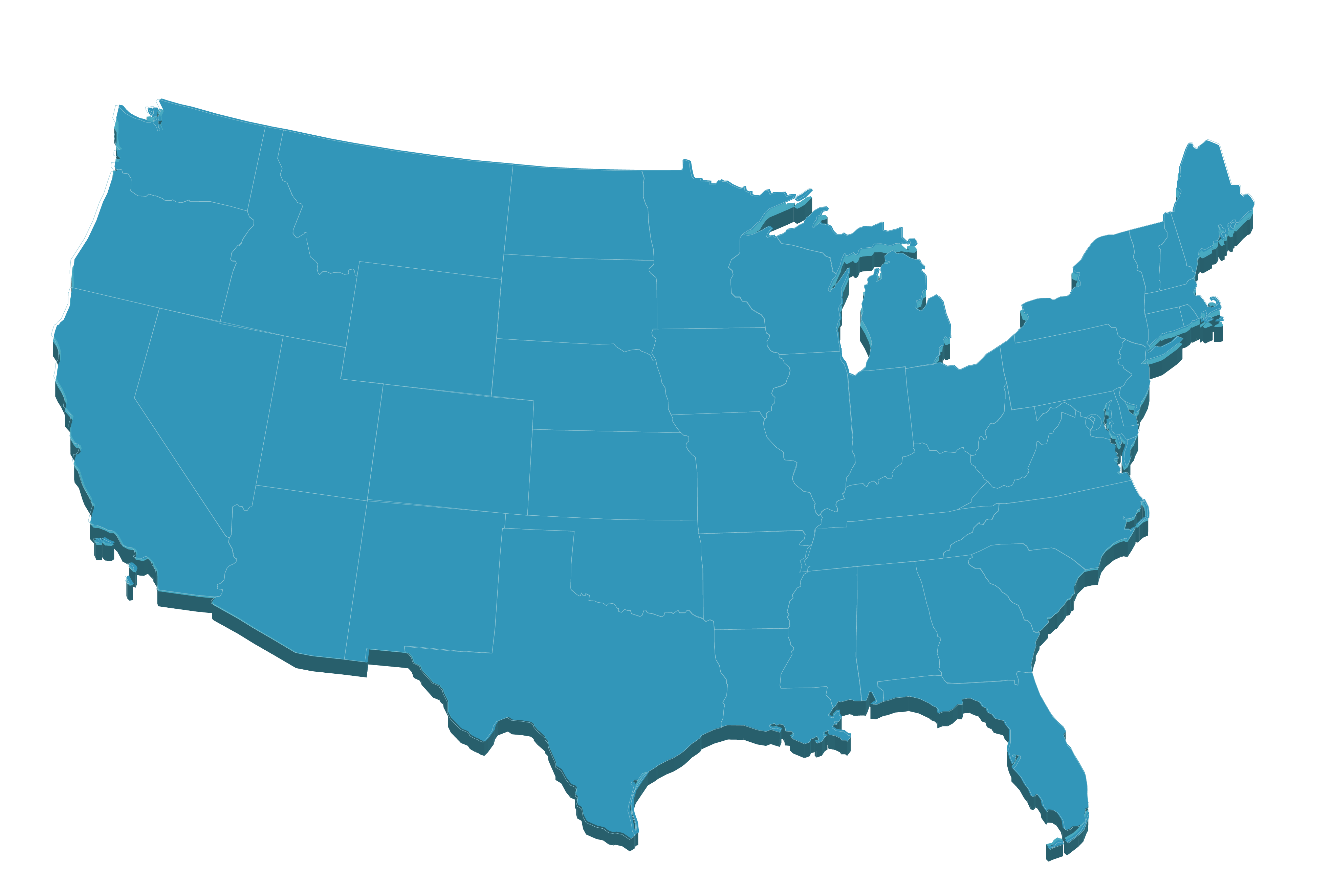 Map of usa png.