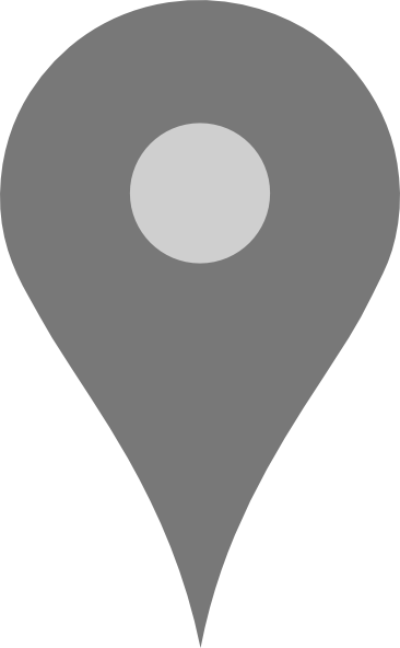 Vector pointers maps google. Map pointer grey clip