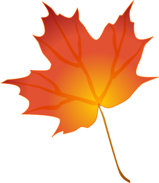 Fall leaf vector png. Free autumn leaves clipart