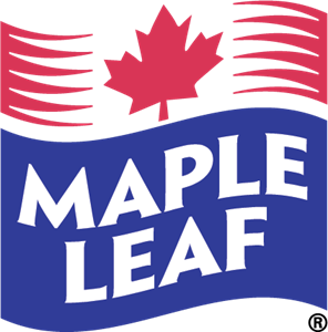 Maple vector. Leaf foods logo eps