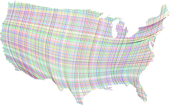Maps clipart geographic. United states of america