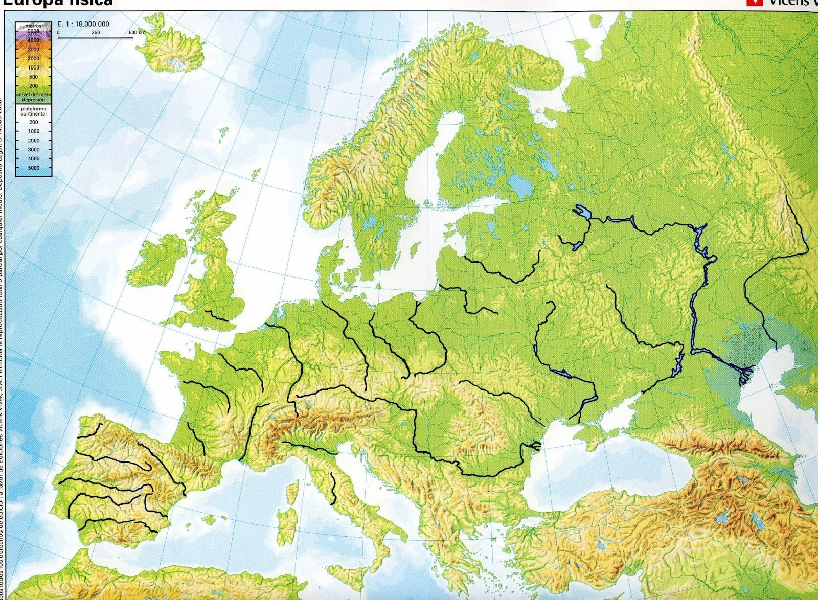 Maps clipart geographical feature. Blank physical map of