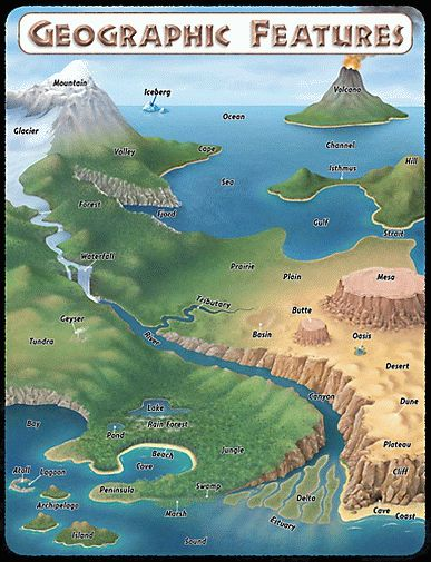 Maps clipart geographical feature. Best geography for
