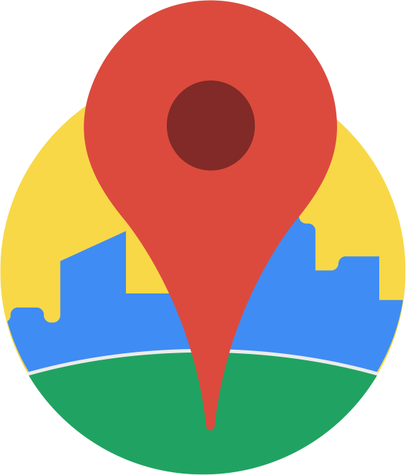 Maps vector. Google on android gets