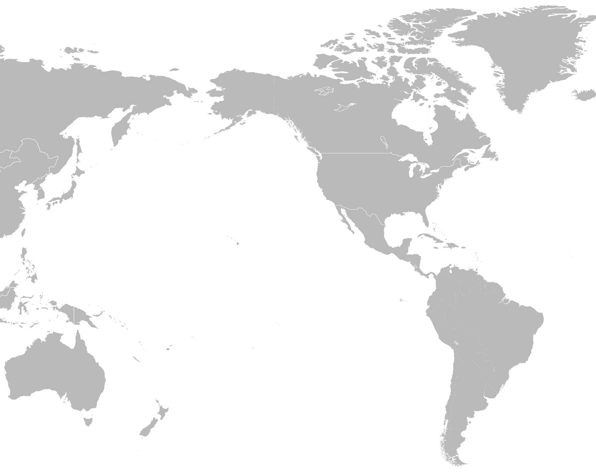 Maps vector blank. File pacific rim map