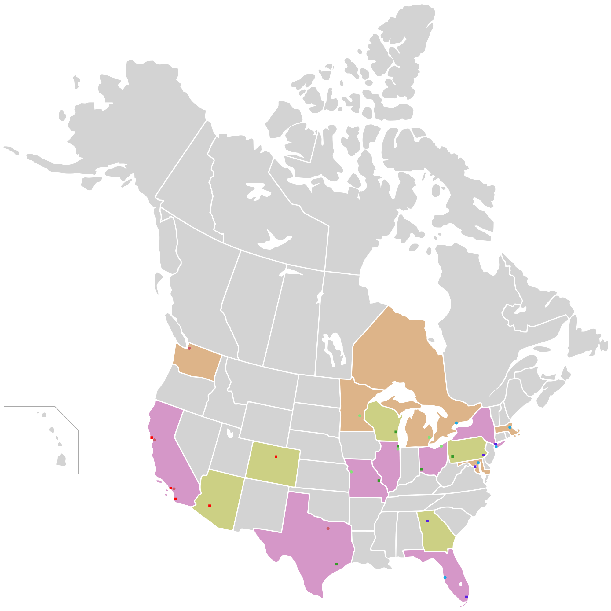Us vector canada. File map of usa