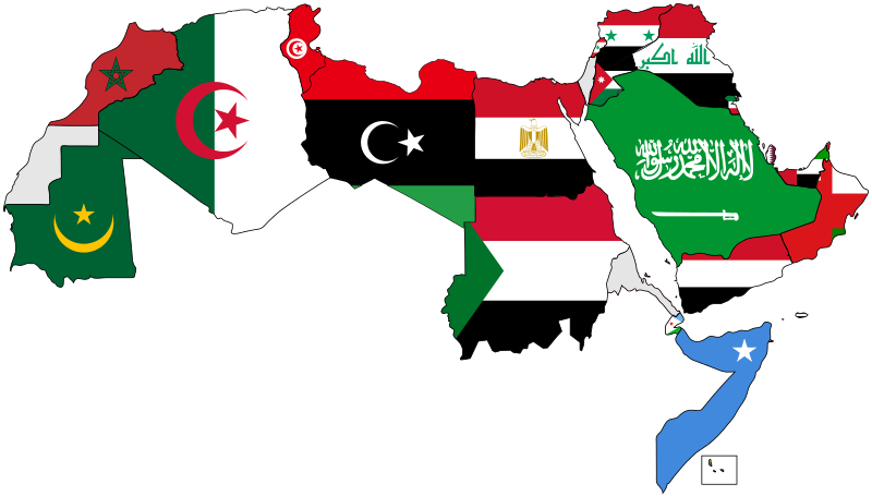 Maps vector mena. Interactive and timelines current