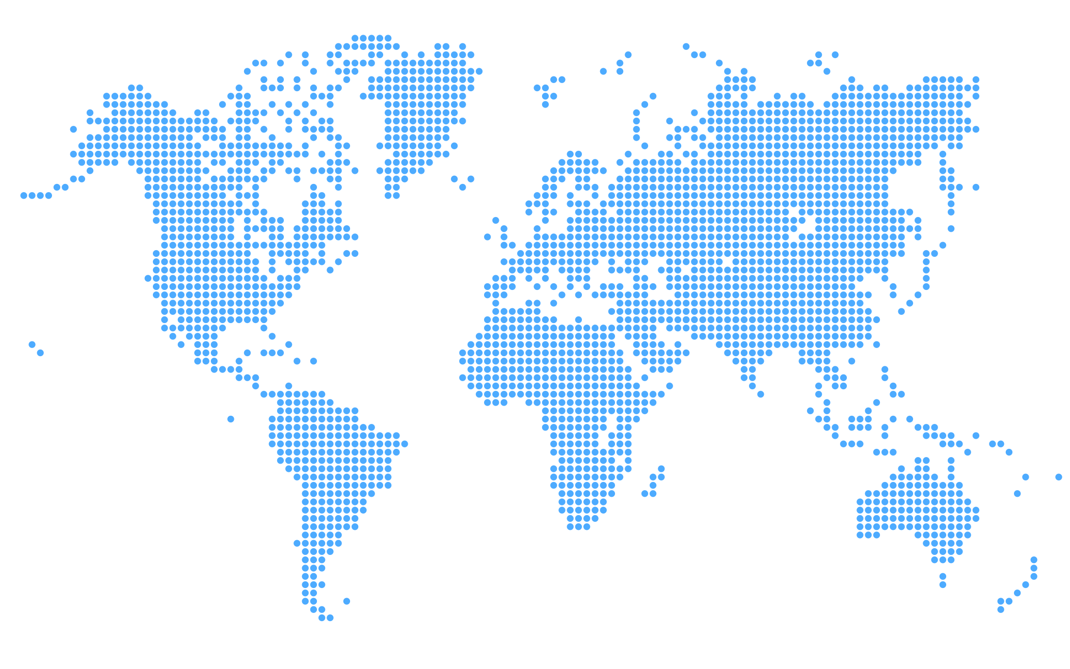 Transparent maps dotted. File world map blue