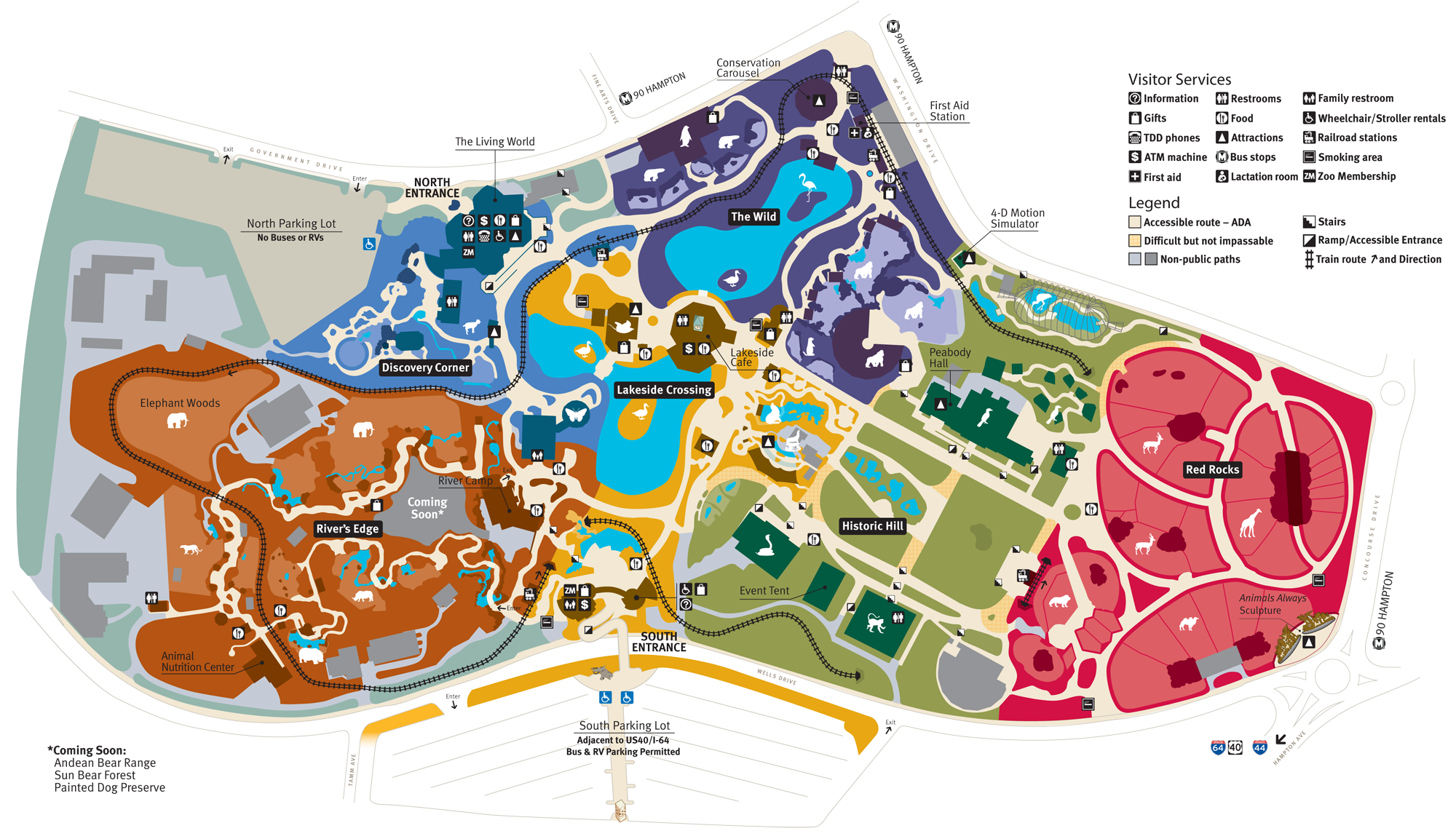 Maps vector zoo. Map of saint louis