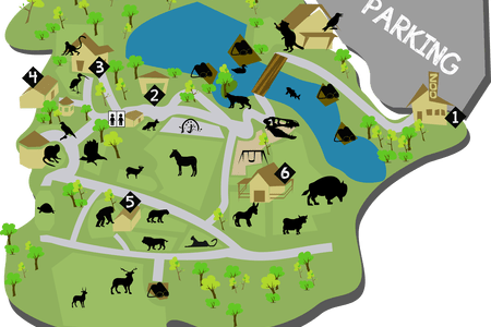Maps vector zoo. Melbourne map pdf full
