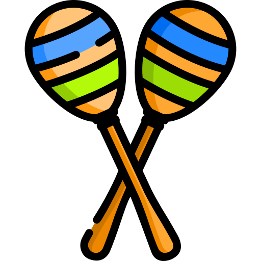 Maracas drawing color. Maraca png icons and