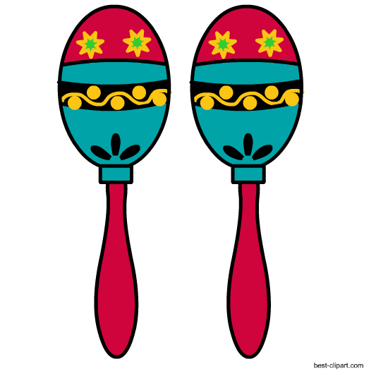 Maracas drawing puerto rican. Clipart for free download
